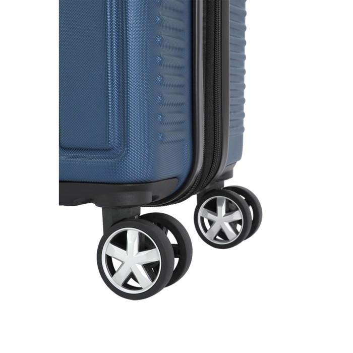 Чемодан Wenger VAUD, синий, с подставкой для кофе, АБС-пластик, 36 x 24 x 57 см, 38 л - фото 1057151
