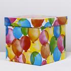 Складная коробка «Яркие шары», 27.5 × 27.5 × 27.5 см - фото 148180734