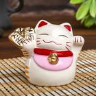 """Piggy Bank ceramic """"Maneki-neko character wealth"""" 7,5х7х7 cm"""