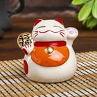 """Piggy Bank ceramic """"Maneki-neko the character for happiness, good luck"""" 7,5х7х7 cm"""