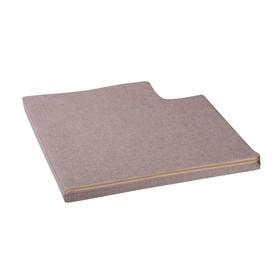 Подушка для углового дивана «Ротанг», цвет шоколад