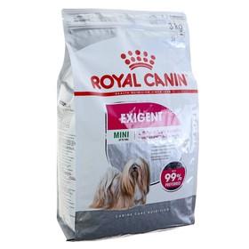 Сухой корм RC Mini Exigent для привередливых собак, 3 кг
