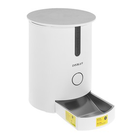 Smart automatic feeder Petwant with the application (container 2.8 l)