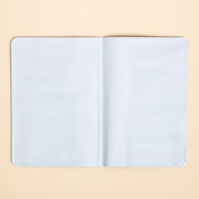 """Набор """"Для котопутешествий"""", туристический конверт, обложка на паспорт, бирка на чемодан - фото 4638278"""