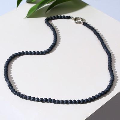 """Beads ball no 4 """"Shungit"""", 45 cm"""
