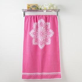 Полотенце махровое Privilea «Символ», 70х140 см, розовый