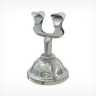 Ценникодержатель металлический, высота 40 мм, серебряный