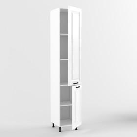 Пенал 2-х дверный Вегас, 556х400х2140, Белый