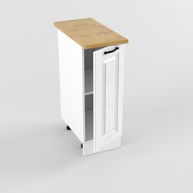 Шкаф напольный Н300 Вегас, 600х300х850, Белый