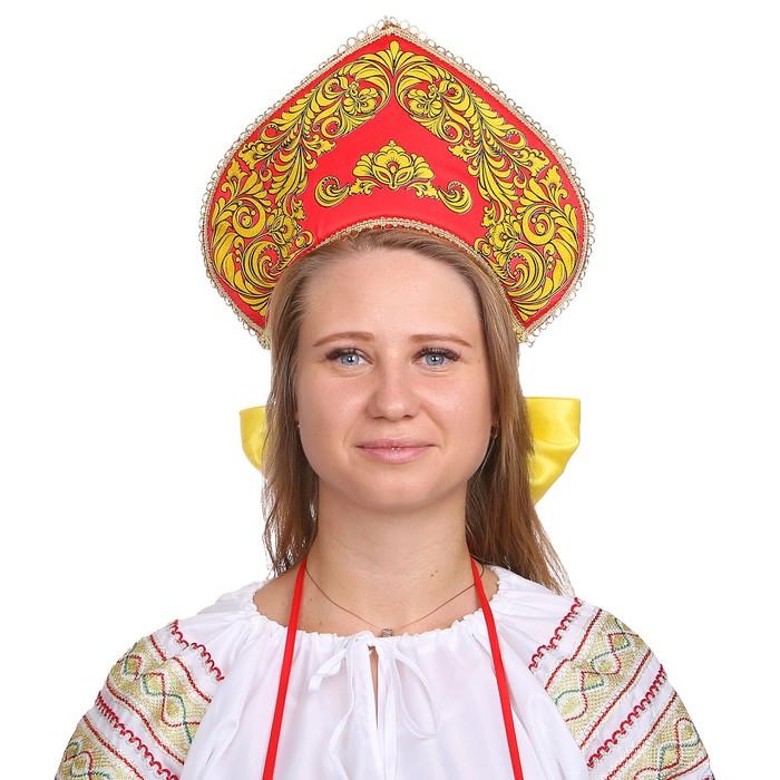 """Кокошник """"Императрица"""""""
