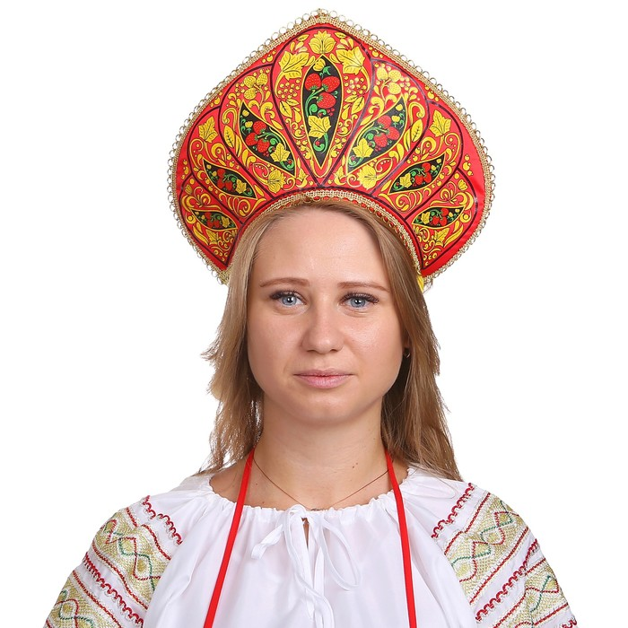 Кокошник «Пелагея» - фото 798228307
