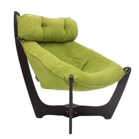 Кресло для отдыха М11, Венге/Verona Apple Green