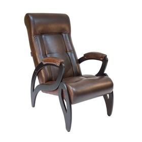 Кресло для отдыха М51, Венге/Antik crocodile