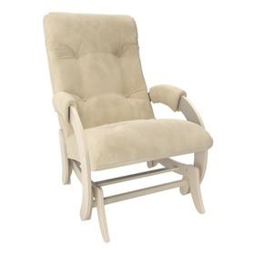 Кресло-качалка глайдер М68, Дуб шампань/ткань Verona Vanilla