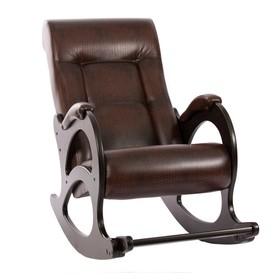 Кресло-качалка М44, Венге б/л/Antik crocodile