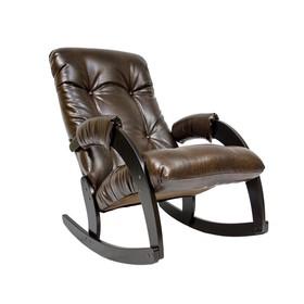 Кресло-качалка М67, Венге/кожзам Antik crocodile