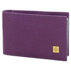 Футляр для визиток, 11 х 1 х 6,7 см, цвет пурпурный, серия Purpur