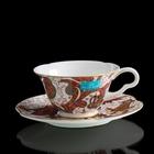 "Чайная пара ""Роспись цветов"" 230 мл"