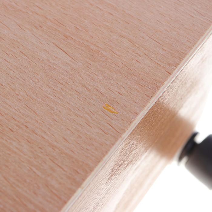 Этюдник буковый 33х46х13см, максимальная высота ножек 83см металл телескопические
