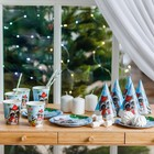 """A set of paper tableware """"Gifts in the new year!"""""""""""