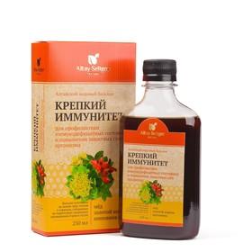 Бальзам Altay Seligor «Алтайский медовый» Крепкий иммунитет, 250 мл.