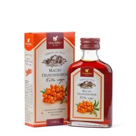 Масло облепиховое Altay Seligor (50 мг/% каротиноидов), здоровый обмен веществ, профилактика авитаминоза и анемии,100 мл