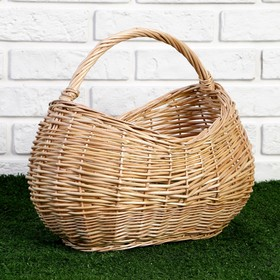 Корзина «Урожай», 39×23×16/24/32 см, ручное плетение, ива