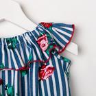 Платье «Линда», цвет синий, рост 110 см - фото 105695621