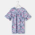 Платье «Весна», цвет синий, рост 104 см - фото 105695638