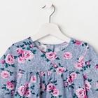 Платье «Весна», цвет синий, рост 104 см - фото 105695639