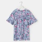 Платье «Весна», цвет синий, рост 104 см - фото 105695640