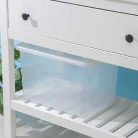 Контейнер для хранения с крышкой Porter, 21 л, 43×32×27 см, цвет прозрачный