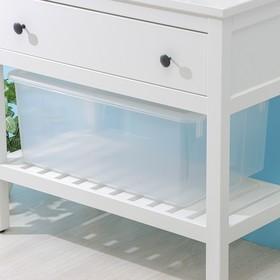 Контейнер для хранения с крышкой Porter, 50 л, 66×42×26 см, цвет прозрачный