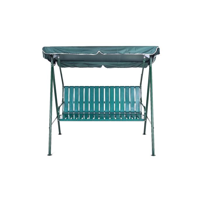"""Качели садовые """"Отдых-1 Пл"""" с пластиковыми сиденьями, 177 х 140 х170 см"""