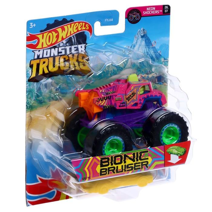 Машина «Базовый Монстр трак», масштаб 1:64, цвета МИКС - фото 1014980