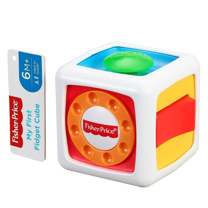 Развивающая игрушка «Мой первый кубик-непоседа»