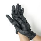 Перчатки нитриловые неопудренные, размер S, Black sapfir, 50 шт/уп, цвет чёрный