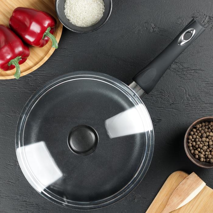 Сковорода «Классик», d=26 см, h=6 см, стеклянная крышка