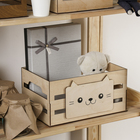 Ящик для хранения «Кот», 300 × 150 × 200 мм