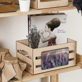 Ящик для хранения «Лаванда», 300 × 150 × 200 мм