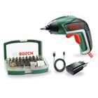 Аккумуляторная отвертка Bosch IXO V Bit Set, 3.6 В, 1500 mA, 215 об/мин, Li-lon, 32 насадки   444257