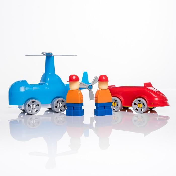 Конструктор «Моя авиация: Вертолёт», 22 детали