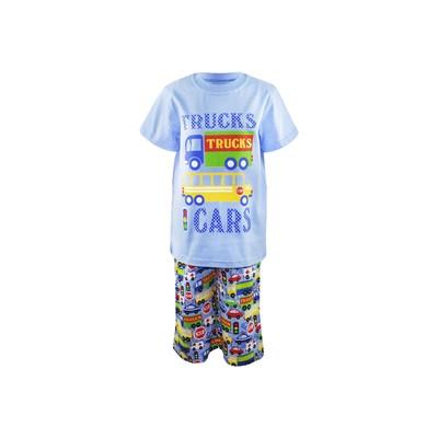 Пижама для мальчика, цвет голубой, рост 134 см