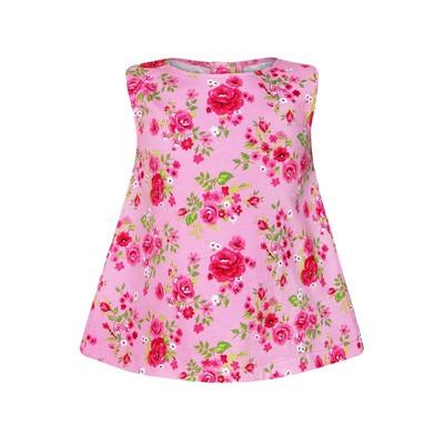 Блузка для девочки, цвет розовый, рост 128 см