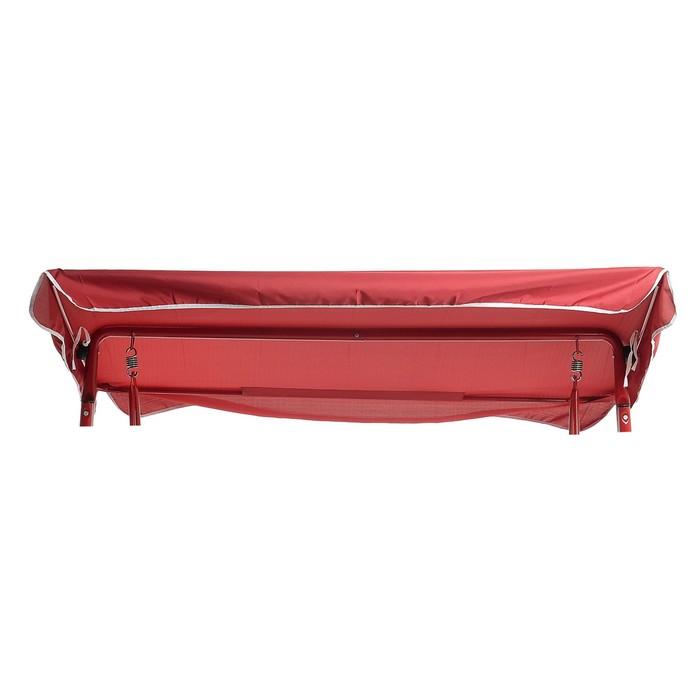 Тент-крыша для качелей, 207 × 147 см, бордовый