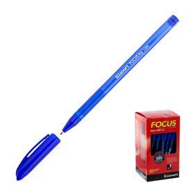 Ручка шариковая Luxor Focus Icy, узел 1.0 мм, чернила синие Ош