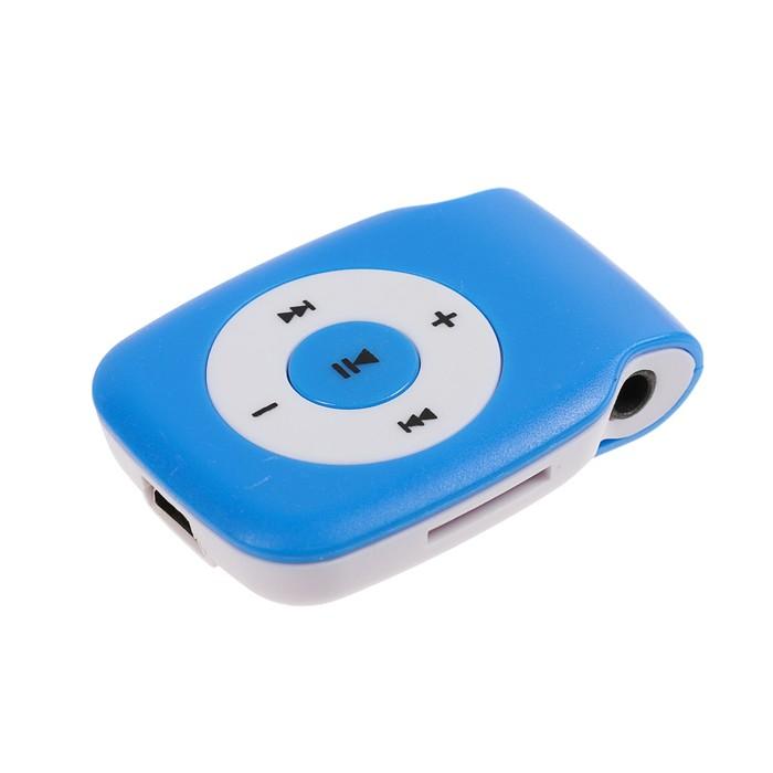 Плеер MP3 Luazon LMP-03, разъём для Tf карт, miniusb, 3,5 jack, МИКС