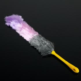 Щётка для удаления пыли 61 см, насадка 40 гр, цвет МИКС