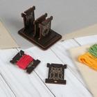 Бобины для ниток «Совы», на подставке, 4,5 × 8 × 5 см