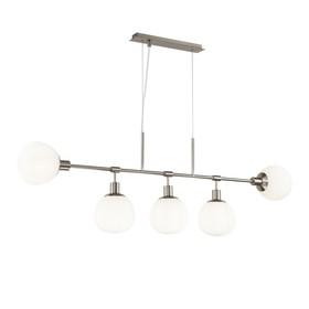 5 ламп никель